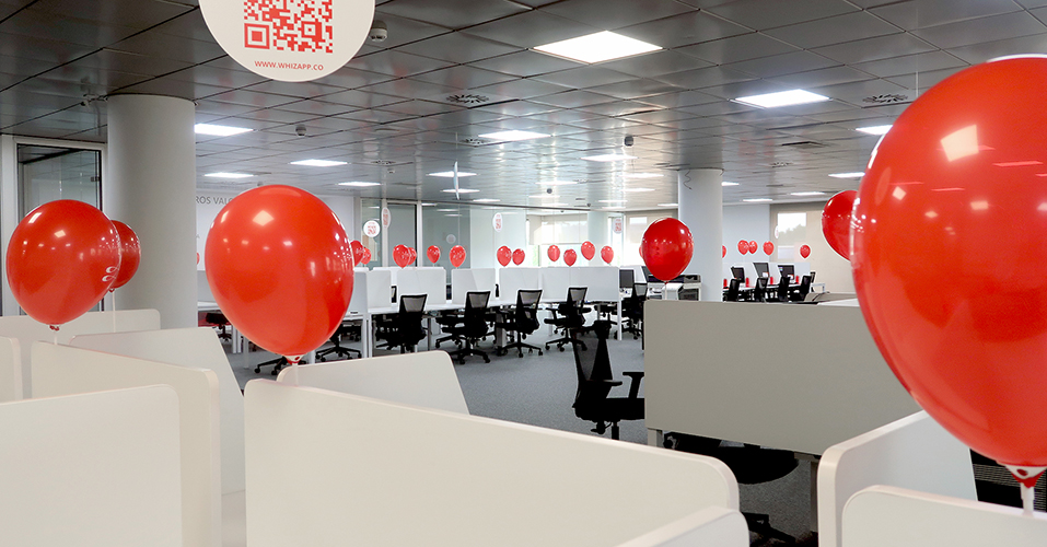 Welcome to our new office in Madrid!